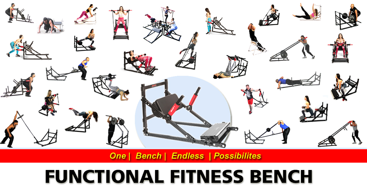 ALLN-1: Functional Fitness Bench