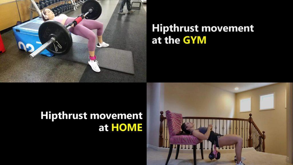 PlyoBelt Hip Thrust