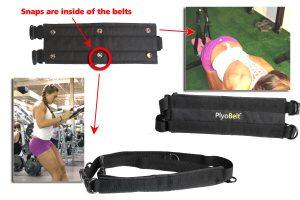 PlyoBelt Hand Strap Foot Strap Shoulder Strap