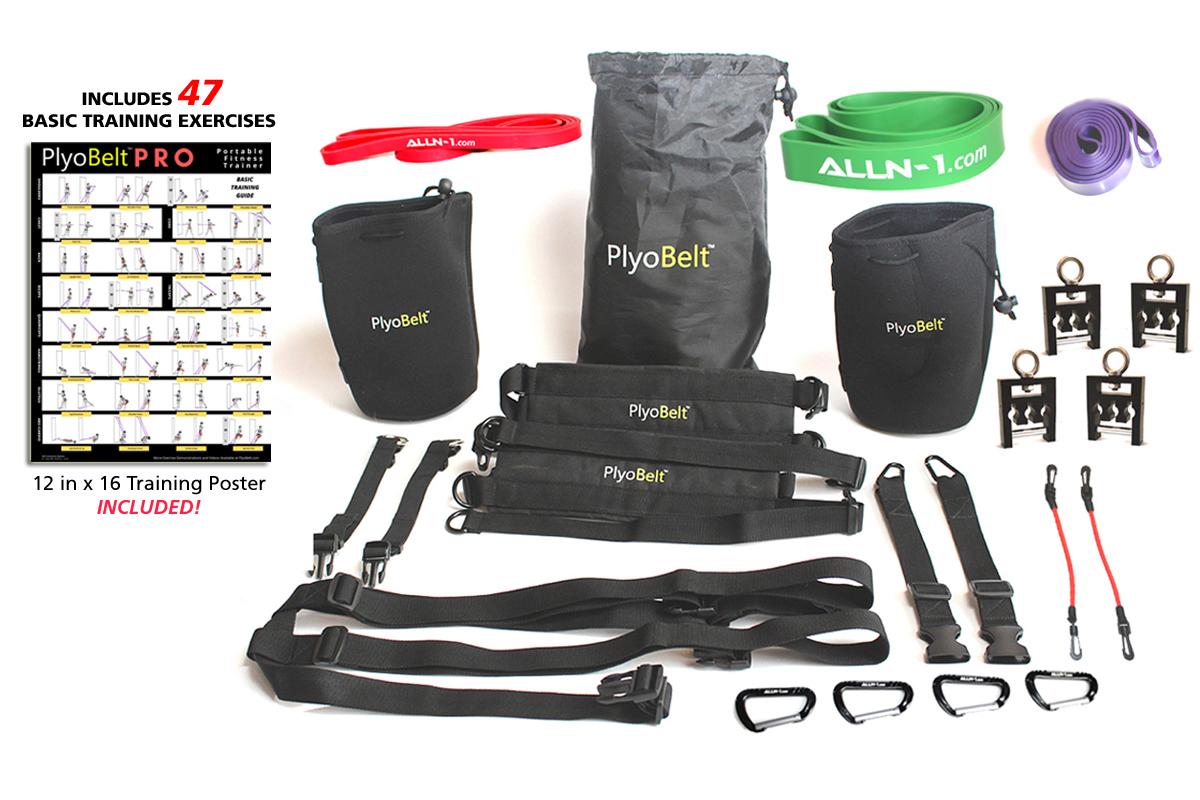 ALLN-1 PlyoBelt PRO Portable Fitness Trainer