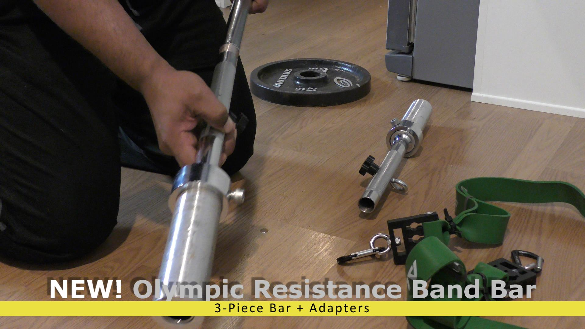 Olympic Sleeve & Resistance Band Barbell Adapters