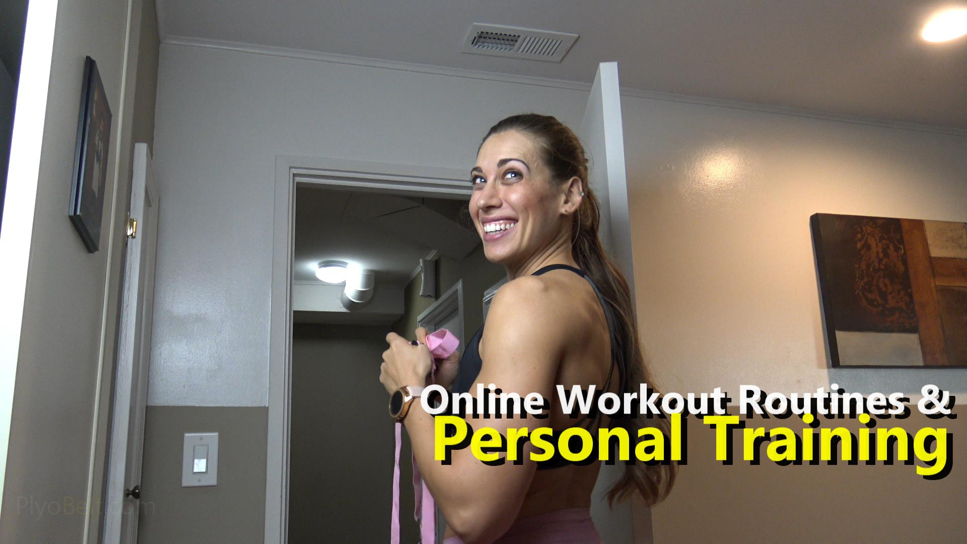 Online Workout Routines & Personal Training