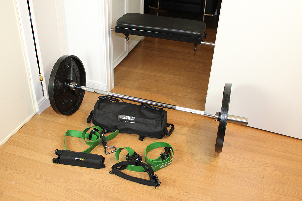F2 Bar + F2 Bench + F2 Sandbag + F2 Straps & VRS Clips PACKAGE!
