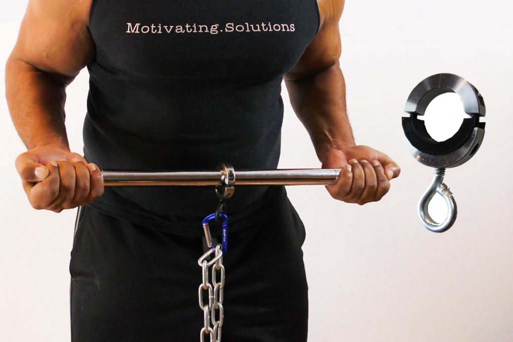 Use the ChainBeast to Easily Connect Chains and Bands for Isometric and Resistance workouts!