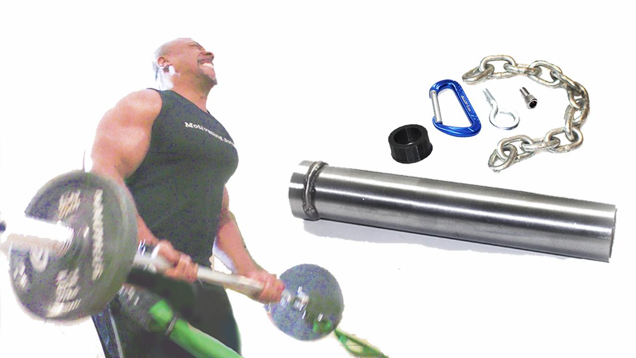 Olympic Sleeve & Resistance Band Barbell Adapter