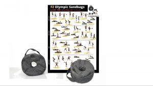F2 Olympic Sandbag + Poster
